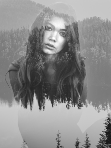 Double Exposure Effect: Photoshop practice